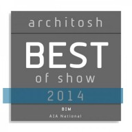 GRAPHISOFT pälvis Architosh AIA National 'BEST of SHOW' autasud