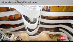 ARCHICAD 21 - Monokroom mudeli visualiseerimine
