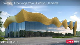 ARCHICAD 23 - Avade loomine hoone elementidest