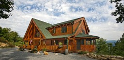 Firma Custom Timber Log Homes kasutab BIMx